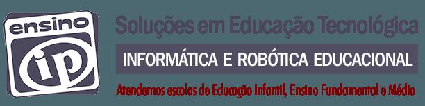 EnsinoIP - Educação em Informática, Robótica e Desenvolvimento Web Logo